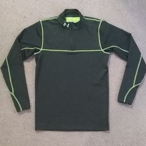 Under Armour Like New fitted quarter zip jacket